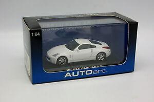 Auto-Art-1-64-3-inches-Nissan-Fairlady-Z-Blanche