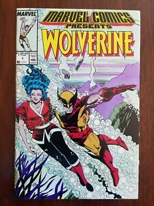 Wolverine-7-Marvel-Comics-Presents-1988-VF-Buy-two-4-95-lots-amp-get-1-FREE