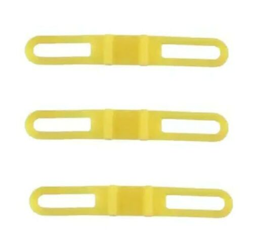 Silicone For Bicycle Flash Light Phone Strap Mount Holder-Set of 3