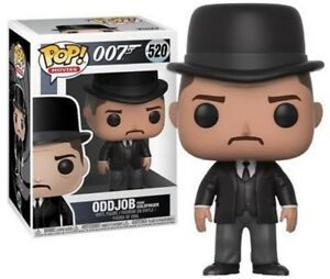 FUNKO-POP-James-Bond-007-ODDJOB-From-Goldfinger-Vinyl-NEU-520