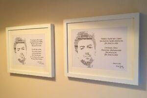George-Michael-v2-Lyrics-Word-Art-Keepsake-Collectible-UK-FREEPOST-Fast-Dispatch