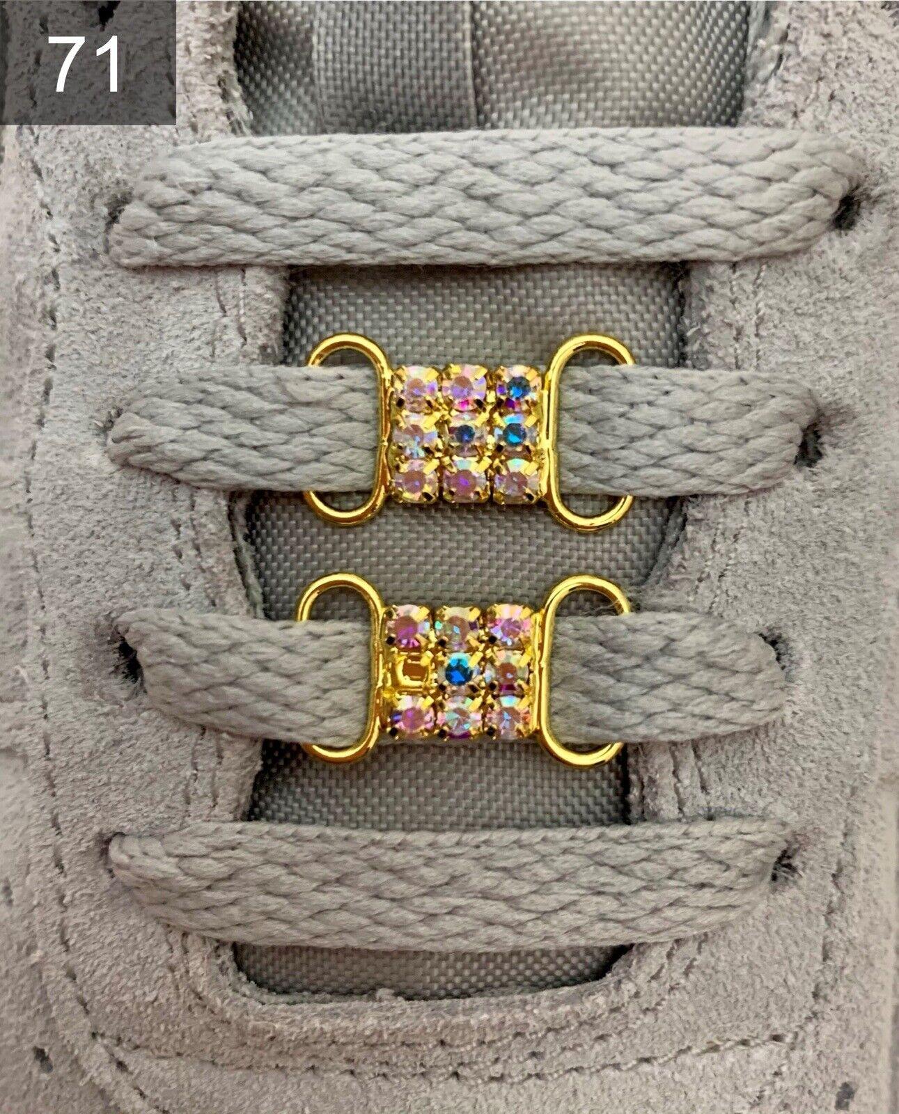 ❤ nuevas nike Air Force 1 zapato hebillas Lace Locks Buckles 38 39 40 2 unid. ❤