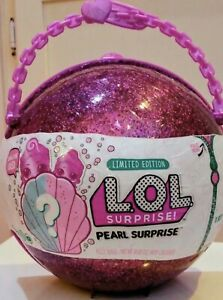 LOL SURPRISE PEARL SURPRISE LIMITED EDITION PURPLE Mermaid NEW REAL AUTHENTIC