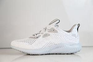 b687d2adc9aa9 Adidas AlphaBounce AMS M White Clear Grey BW0427 7-13 alpha boost ...