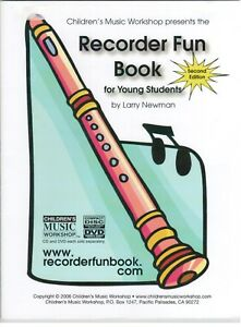 The Recorder Fun Book : For Young Students by Larry Newman