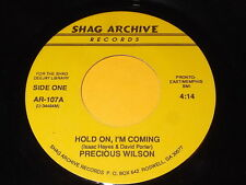 Precious Wilson: Hold On, I'm Coming / Clyde McPhatter: Who's Worried Now 45