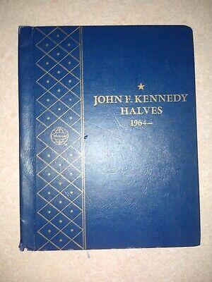 Whitman Used Empty Coin Album-John F Kennedy Halves 1964-#9422 *See Description*