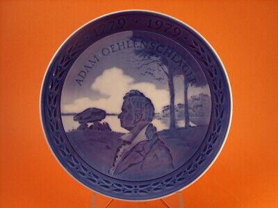 ROYAL COPENHAGEN BING/&GRONDAHL PIATTO DEL GIUBILEO 1975