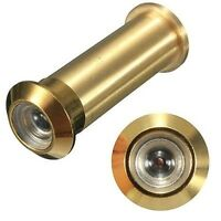 Brainerd Brass 160 Degree Door Viewer Peep Hole Brainerd Door Viewers 647xc