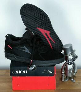 Lakai Skate Schuhe Shoes Tony Hawk Proto Black Suede Independent Trucks 7/40