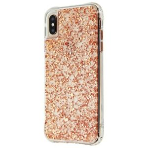 the latest 0c8ea 7e868 Details about Case-Mate Karat Series Case for Apple iPhone XS Max - Rose  Gold / Clear