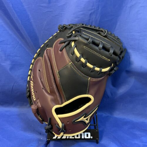 "gant de base-ball Noir//Cerise 34/"" Mizuno MVP Prime GXC50PB3BC"