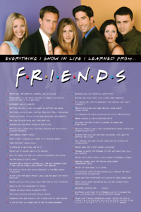 Amigos-Everything-i-Know-Poster-24x36-TV-3477