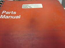 Link Belt Model HC-268 Crane Parts Manual