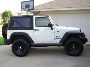 2007 2009 Jeep Wrangler 2 Door Replacement Soft Top With