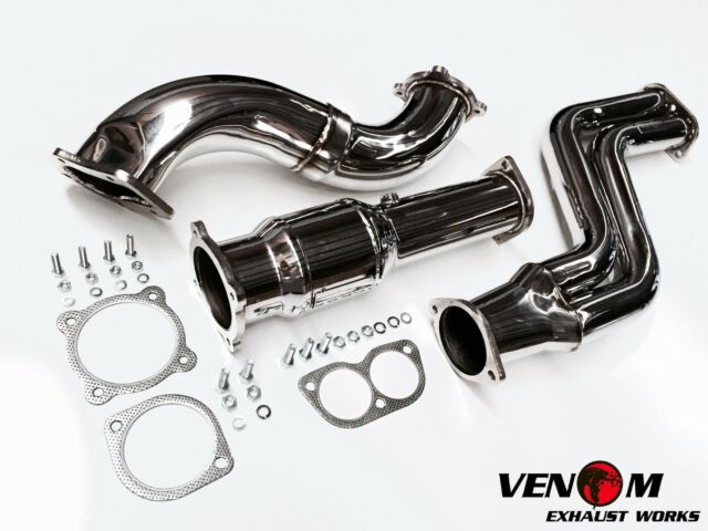 "VENOM BA BF TURBO 4"" DUMP PIPE, CAT & Y PIPE  - Ford BF XR6 F6 Ford FPV Exhaust"