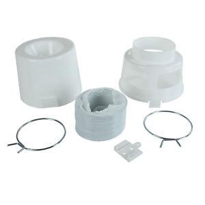 Kit-Ventilacion-De-Pared-Caja-TUBO-Cubo-Condensador-1-2m-for-Bauknecht-secadoras