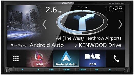 KENWOOD DNX-7170DABS 2-Din Navigation mit Bluetooth