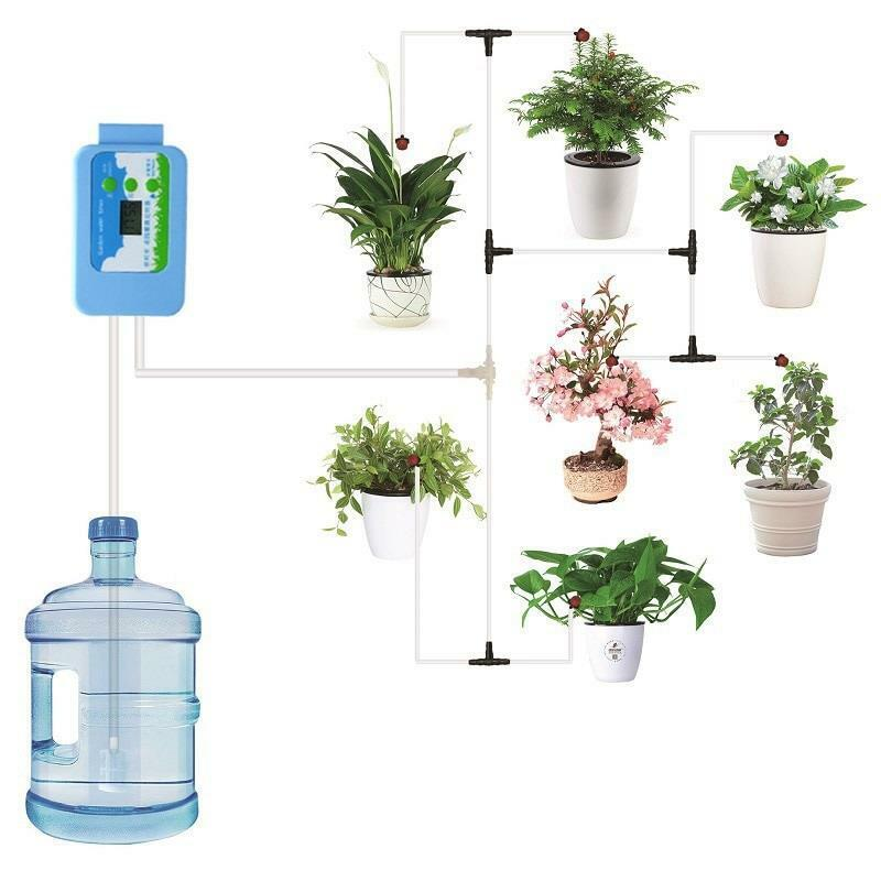Garden Water System Kits Automatic Drip Irrigation Pump Controller Watering Tool