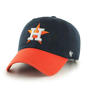 d450266e6 Image is loading Houston-Astros-47-Brand-Clean-Up-Hat-Adjustable-