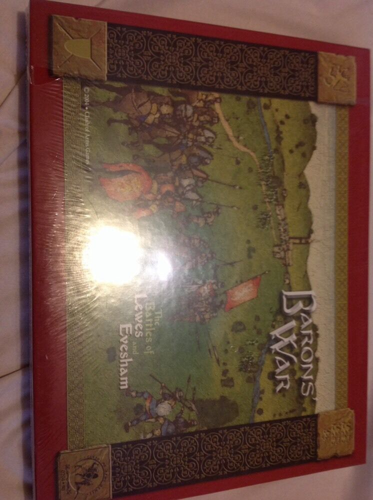 Baron's War The Battles of Lewes and Evesham Wargame