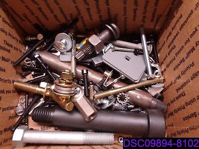 58 lbs: MIXED LOT OF BOLTS, NUTS, WASHERS & LOCK WASHERS