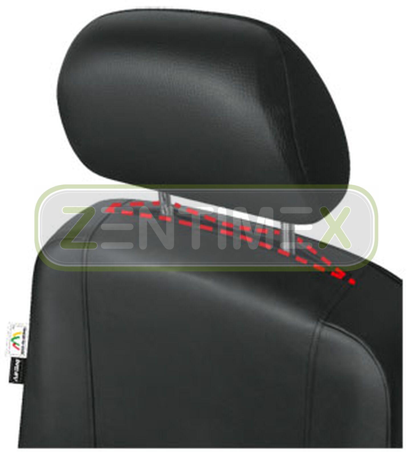 Sitzbezüge Schonbezüge SET QH Peugeot Boxer Kunstleder schwarz