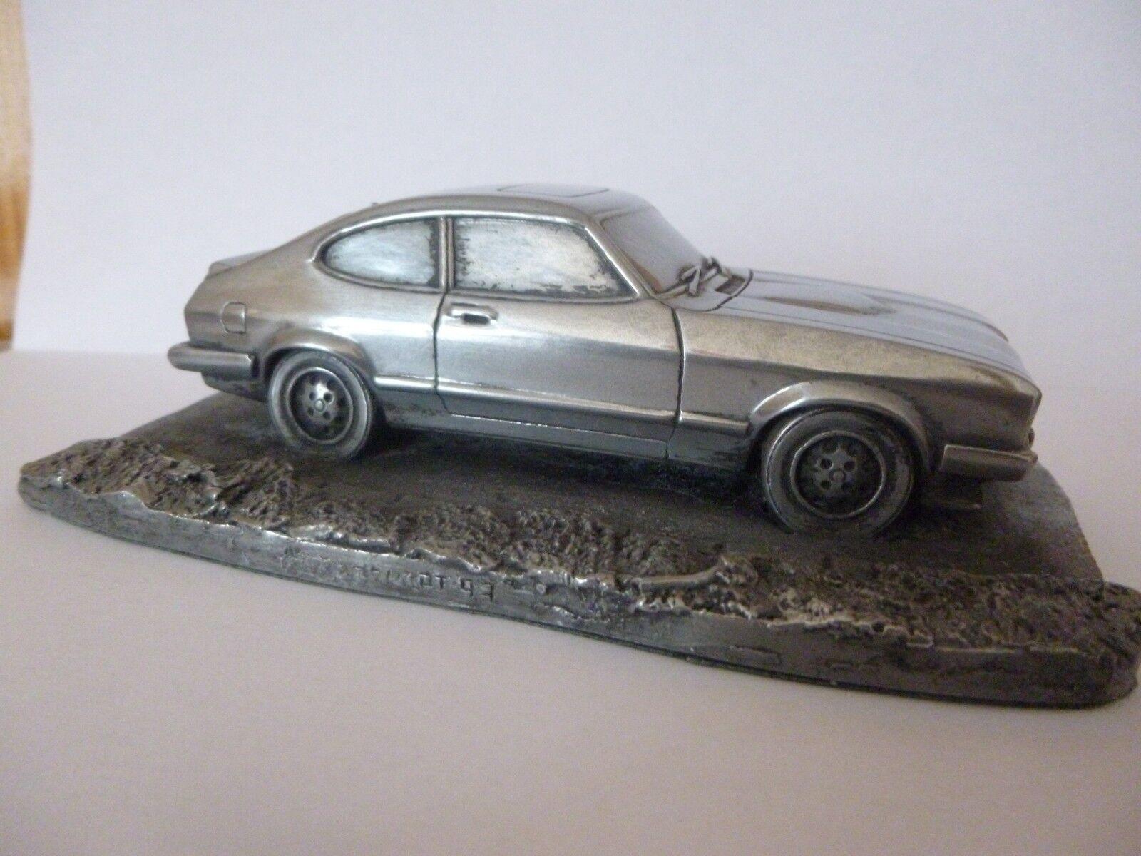 FORD CAPRI  mk3 1 36   miniature Autosculpt  made in Sheffield  England