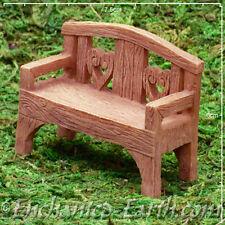 New Vivid Arts Miniature World Plus Size -Fairy Love Seat - Model Village- 7cm