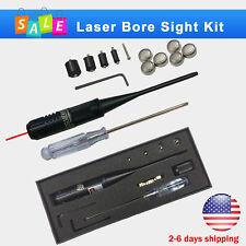 Red Laser BoreSighter Bore Sight kit for .22 to .50 Caliber Rifles Handgun