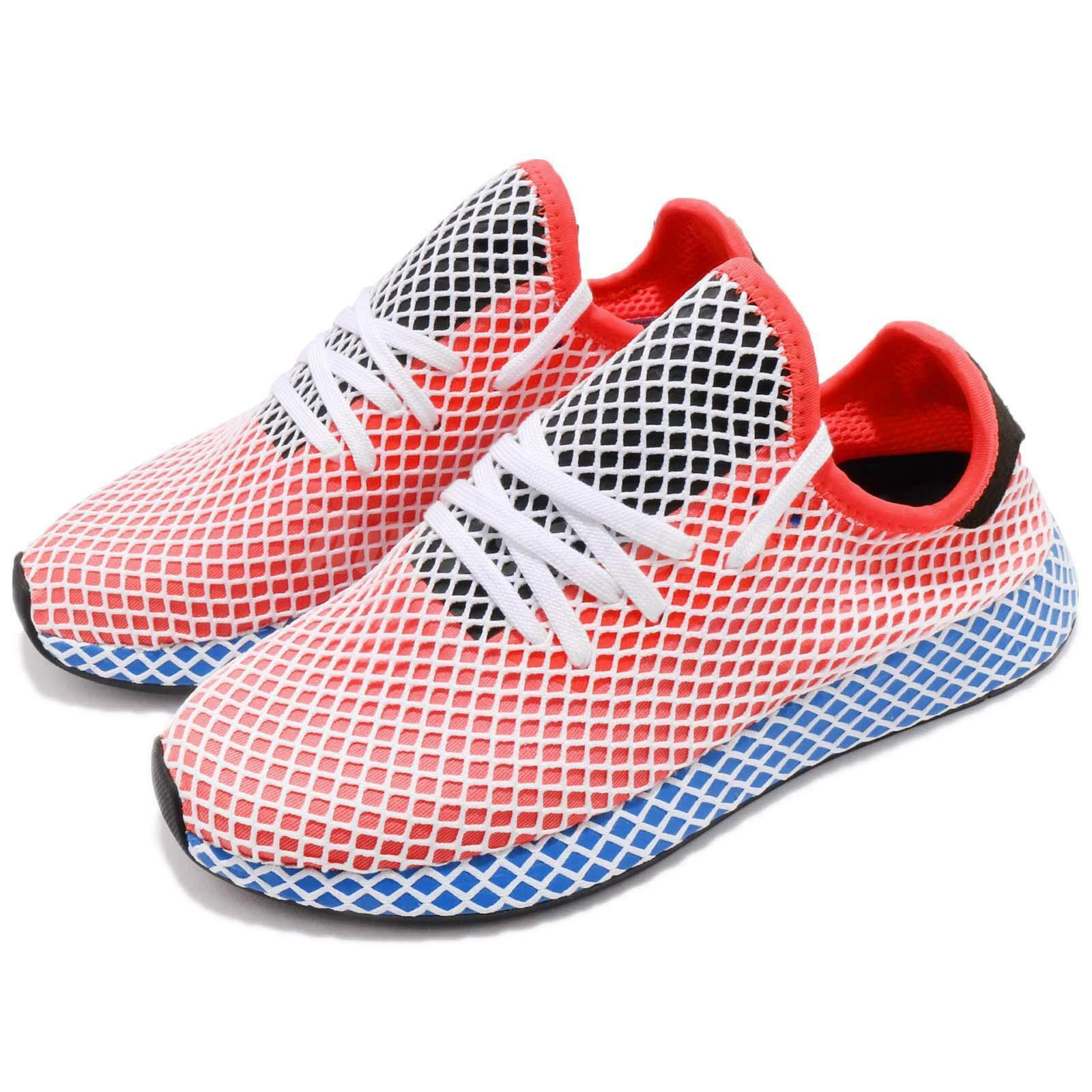Adidas Originals Deerupt  Runner Solar Red blueeeeeeeeebird Adryan Hanson Men shoes CQ2624  more order