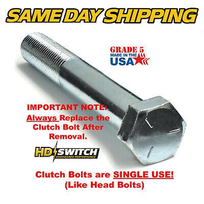 HD Switch Hex Head Clutch Bolt Repalces 601834 Hustler Big Dog Grade 5!