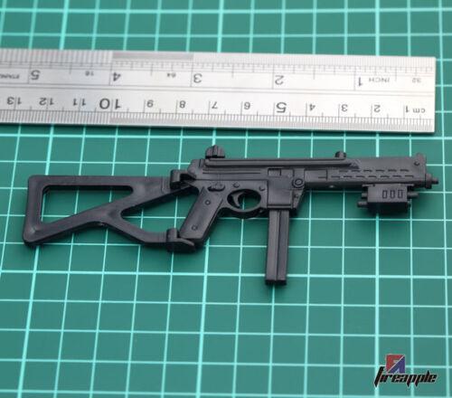 "1:6 Scale Black Plastic Submachine Gun Weapon Mode For 12/"" Action Figure"
