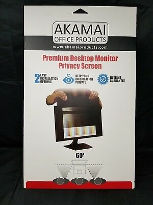 21.5 Inch Akamai Office Products Premium Laptop Privacy Screen