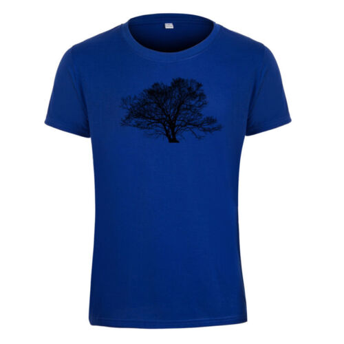 Nature Ecology Tree Unisex T-shirt Leisure Stag Hen Tops Summer Slim Tee