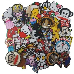 Wholesale Cartoon Anime Disney Superhero Character Sew Iron Embroidered On Patch Ebay