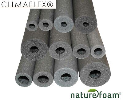 Foam Pipe Insulation Lagging by Climaflex Wrap Roll Copper Plastic ALL SIZES!