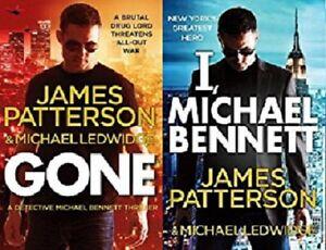 James-Patterson-2-Livre-Ensemble-Michael-Bennett-Tout-Neuf-Envoi-GB