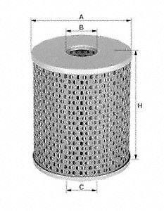 MANN-FILTER HU719/6X Oil Filter