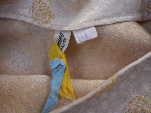 Dress broccato Abito Döring 60s Carl '60 anni chiaro stile rosa in vintage S S6fOH