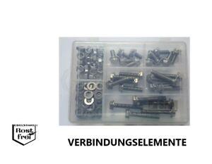 Sechskantschrauben Sortiment 100 Teile DIN 6921 verzahnt EDELSTAHL A2 M8