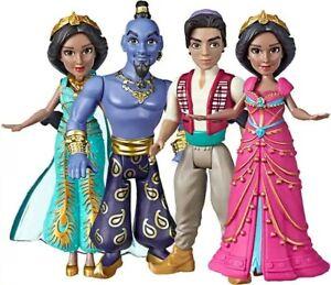 Disney-Live-Action-Aladdin-Mini-Doll-Princess-Jasmine-Genie-Aladdin-set-of-4