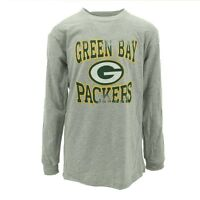 Green Bay Packers Youth Size Long Sleeve shirt NFL Official New with Tags