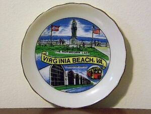 Virginia Beach Souvenir Plate