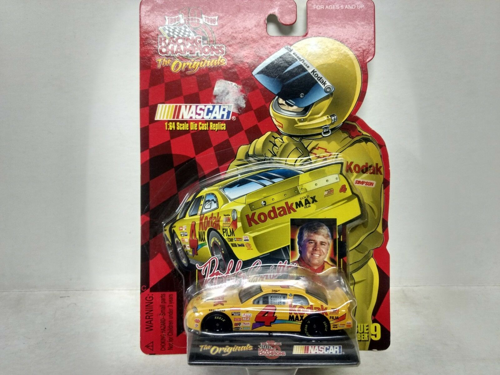 Racing Champions The Originals Bobby Hamilton Kodak 1 64 Skala-Modelle Mb276