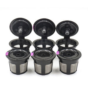6-PACK-Refillable-Reusable-K-Cup-Coffee-Filter-Pods-for-Keurig-2-0-amp-1-0