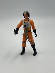 Star Wars OTC Wedge Antillies X-Wing Pilot Loose Complete Figure 2004 Hasbro