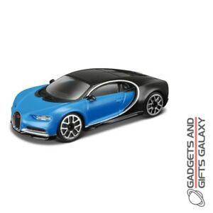 bburago diecast model car 1:43 bugatti chiron adults toys & games