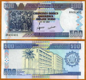Burundi-500-Francs-2007-P-38-38d-UNC-gt-large-size-issue