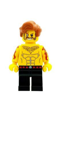 Design Personnalisé FIGURINE REX Fury Super-héros sous couverture imprimée sur LEGO Pièces